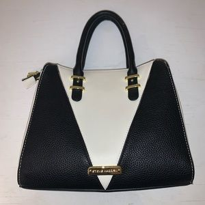 Two tone, vintage style purse from Steve Madden